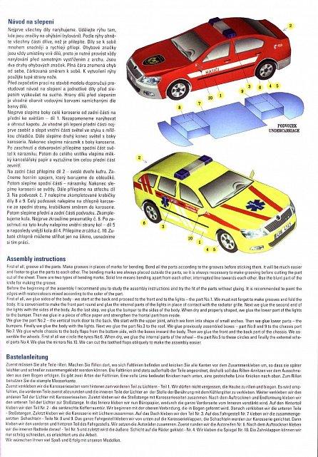 Náhled Jednoduchá vystřihovánka osobní automobily 2 - Škoda Octavia