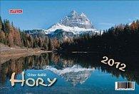 Kalendář 2012 - Hory - týdenní stolní