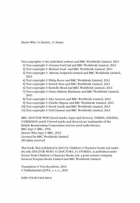 Náhled Doctor Who: 11 doktorů, 11 příběhů