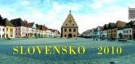 Slovensko 2010 - stolový kalendár