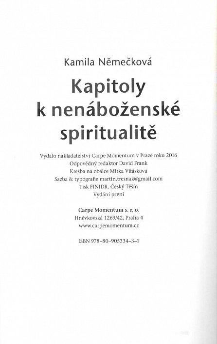 Náhled Kapitoly k nenáboženské spiritualitě