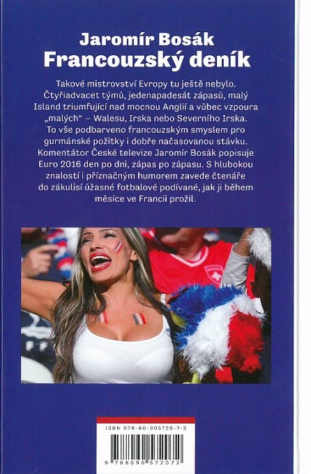 Náhled Francouzský deník aneb velká fotbalová párty pod Eiffelovou věží