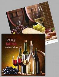 Wine - nástěnný kalendář 2013