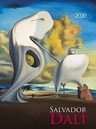 Salvador Dalí 2020 - nástěnný kalendář