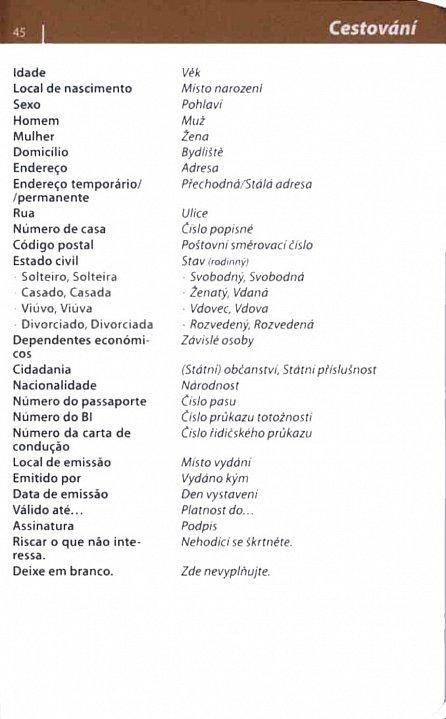 Náhled Brazilská portugalština - konverzace se slovníkem a gramatikou