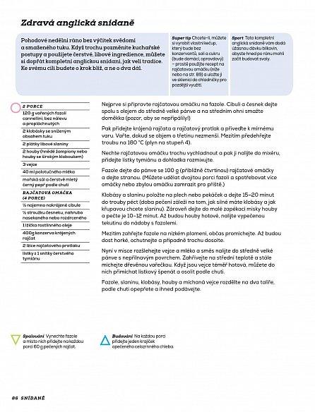 Náhled Fitness labužník - Strava pro zdraví a duševní pohodu. Skvělé recepty pro ideální fyzickou kondici