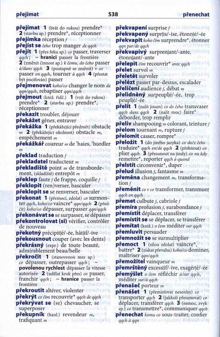 Náhled Francouzsko-český, česko-francouzský šikovný slovník...… nejen do školy