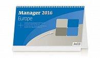 Kalendář stolní 2016 - Manager Europe