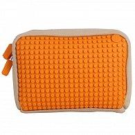 Pixelová Příruční Taška Oranžová