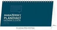 Manažérsky plánovací kalendár s citátmi - stolní kalendář 2015