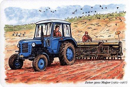 Náhled Československé traktory