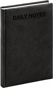 Diář - Tucson černá, Denní A5 - nedatovaný, 15 x 21 cm
