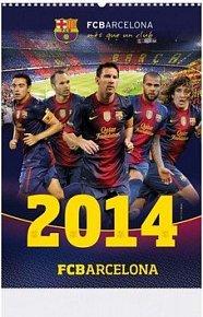 FCBarcelona 2014 - nástěnný kalendář