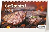 Kalendář stolní 2015 - Grilování