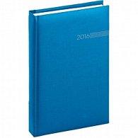 Diář 2016 - Capys - Denní A5, světle modrá,  15 x 21 cm