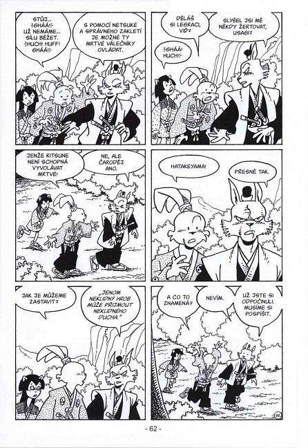 Náhled Usagi Yojimbo - Zrádci země