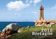 Kalendář nástěnný 2016 - Bretagne