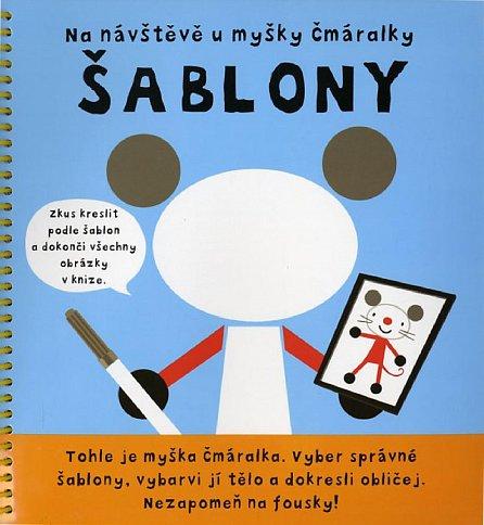 Náhled Myška Čmáralka - Šablony