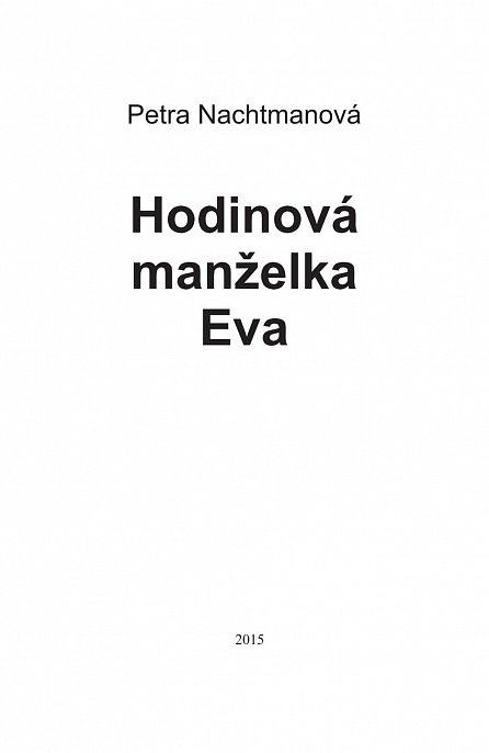 Náhled Hodinová manželka Eva