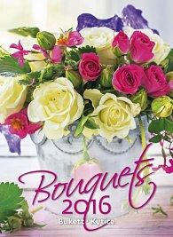 Kalendář nástěnný 2016 - Kytice - Bouquets