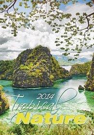 Kalendář 2014 - Tropical Nature - nástěnný