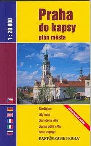 Praha do kapsy plán města 1:20 000