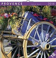 Kalendář 2014 - Provence Jakub Kasl - nástěnný poznámkový (ANG, NĚM, FRA, ITA, ŠPA, HOL)
