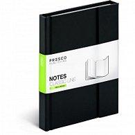 Notes Classic Line magnetický linkovaný, 10,5 x 15,8 cm