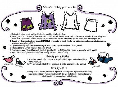 Náhled Obleč si papírové panenky
