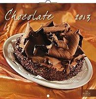 Kalendář 2013 poznámkový - Čokoláda, 30 x 60 cm