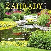Kalendář 2012 - Záhrady - nástěnný