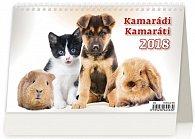 Kalendář stolní 2018 - kamarádi