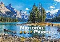 Kalendář nástěnný 2017 - National Parks 450x315cm