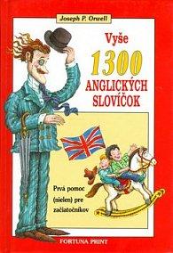 Vyše 1300 anglických slovíčok