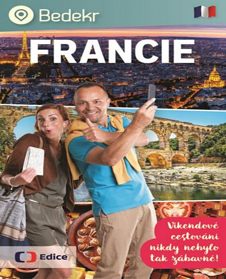 Náhled Bedekr: Francie