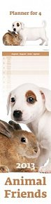 Kalendář nástěnný 2013 - Animal Friends