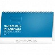 Kalendář stolní 2017 - Manažerský s citáty