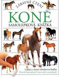 Koně - samolepková knížka /zábavné čtení