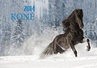 Koně - nástěnný kalendář 2014