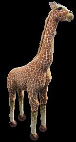Žirafa plyšová 205 cm