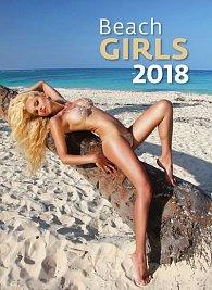 Kalendář nástěnný 2018 - Beach Girls