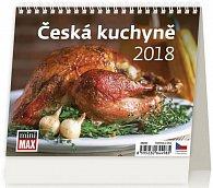 Kalendář stolní 2018 - MiniMax/Česká kuchyně