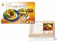 Recepty 2016 - stolní kalendář