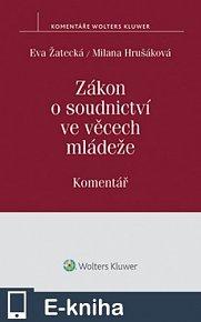 Zákon o soudnictví ve věcech mládeže (č. 218/2013 Sb.) - Komentář (E-KNIHA)
