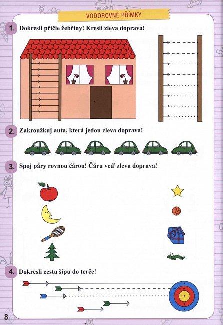 Náhled Psaní hrou - Příprava na psaní pro školkaře