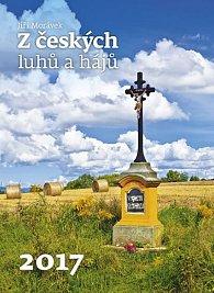 Kalendář nástěnný 2017 - Z českých luhů a hájů