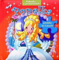 Popelka - Pohádky o princeznách - 6 puzzle
