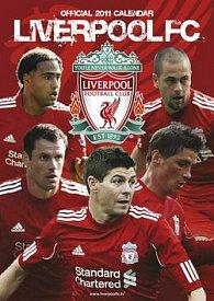 Liverpool FC 2011 - nástěnný kalendář