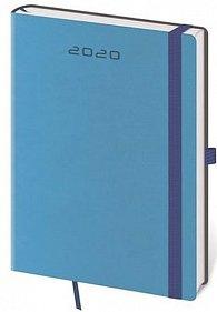 Diář 2020 - Flexies/denní A5/modrá