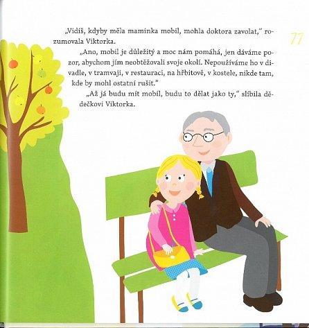 Náhled Dědečku, vyprávěj - Etiketa pro kluky a holčičky od tří let + CD